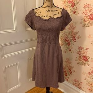 NWT Off the Shoulders Lilac Dress